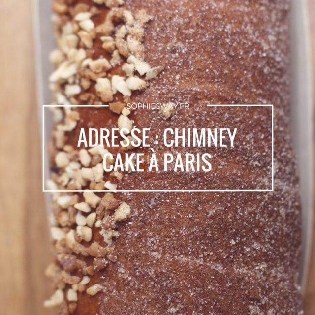Chimney Cake à Paris graphic