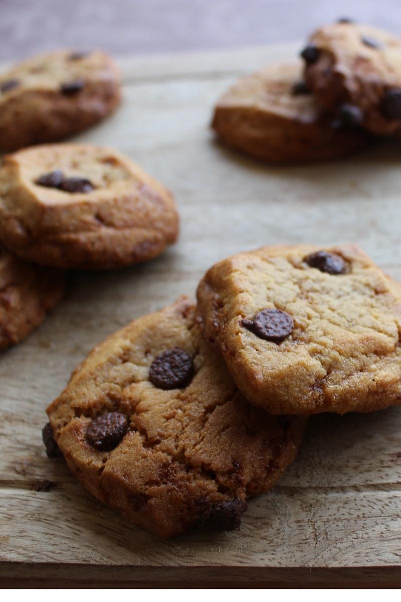 Pâte à cookies HERTA choco-caramel